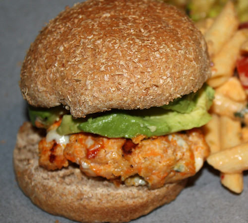 Buffalo Chicken Burgers 2