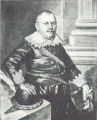 <p>Stephen van der Haghen. Waterverfkopie door Willem Jan Paling Jz. (1777-1848) van een verloren gegaan schilderij uit 1619 van de Utrechtse schilder Paulus Moreelse.</p>