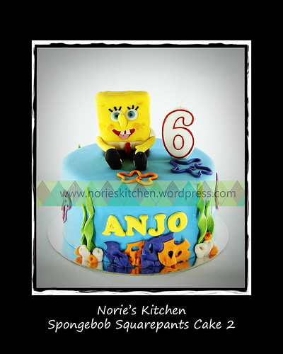 Norie's Kitchen - Spongebob Cake 2 by Norie's Kitchen