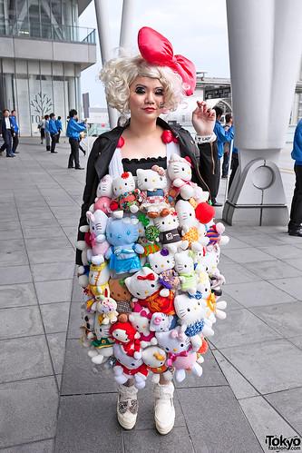 Hello Kitty Dress at Lady Gaga Concert