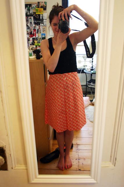 wip - ginger skirt