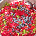 huckleberry salad