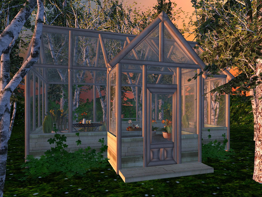 Little Greenhouse by Funky Junk   Fanciful Living in a Virtual World