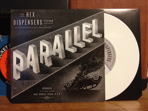 "The Hex Dispensers - Parallel 7"" - White Vinyl (/100) by Tim PopKid"