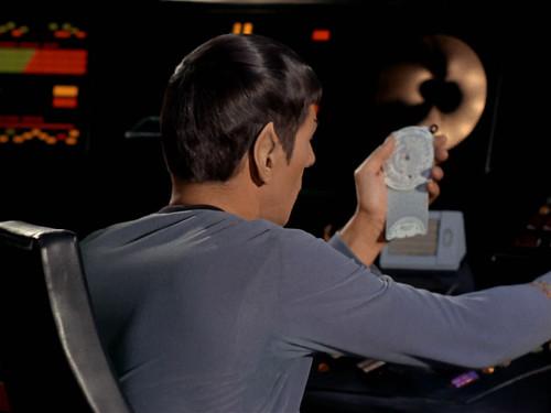 Mister Spock with Jeppesen CSG-1