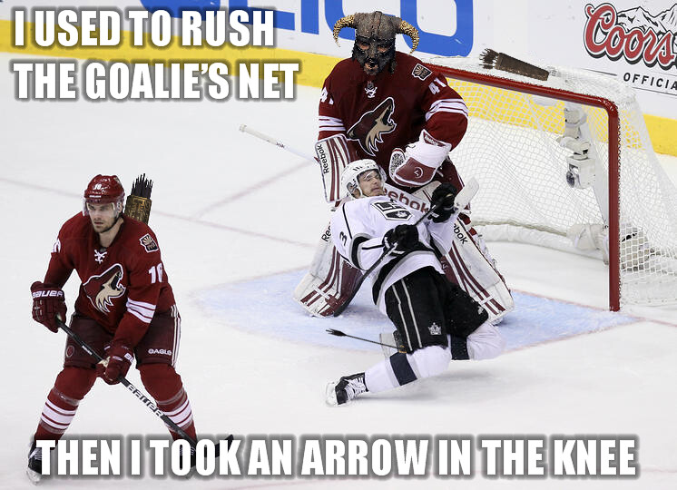 Playoff game thread wcf phoenix coyotes 3 vs los - Hfboards kings ...