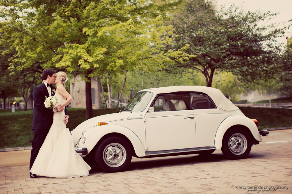 Vintage Bug Wedding Photography