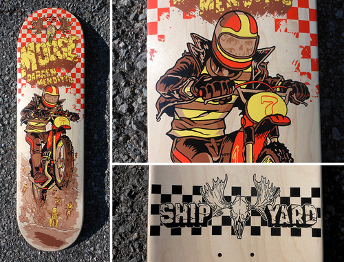 Shpyard Moose Dirtbike deck