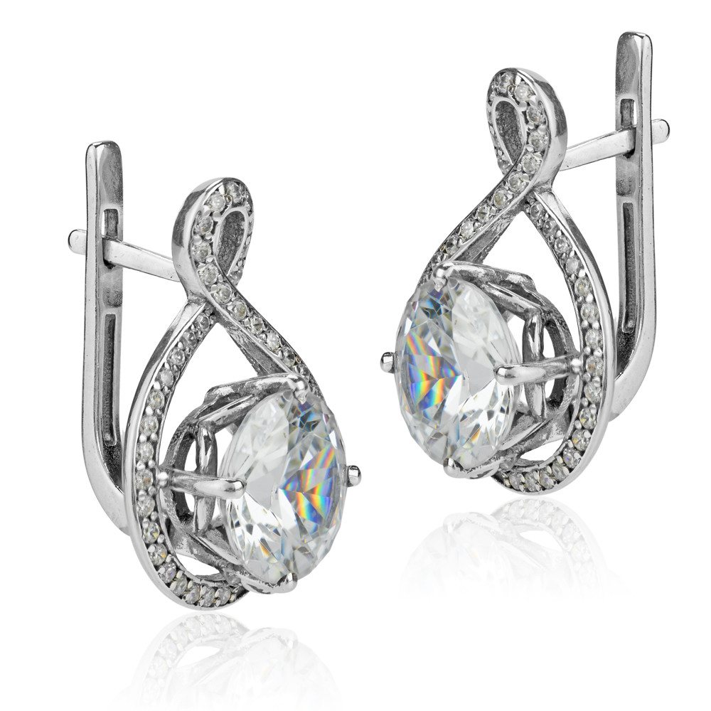 Carat Diamond Earrings For Sale