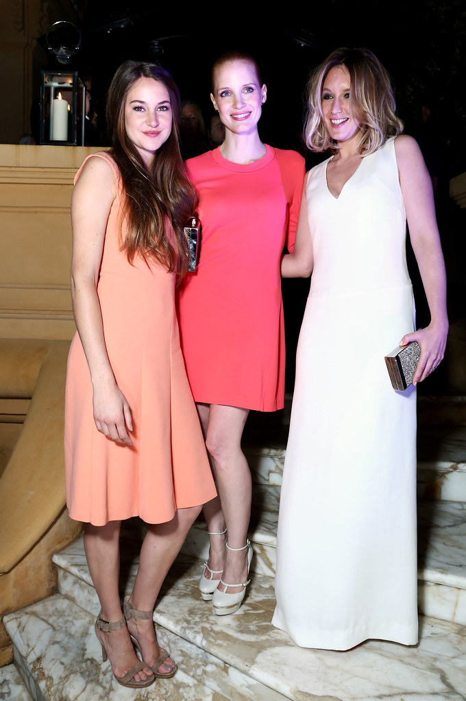 Shailene Woodley, Jessica Chastain,  Ludivine Sagnier