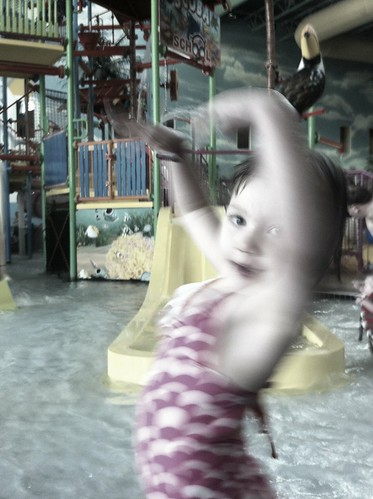 Ivy at the waterpark
