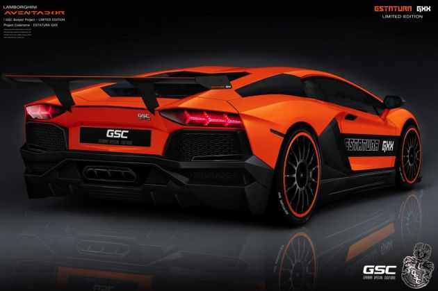 Lamborghini Aventador Estatura GXX by German Special Customs
