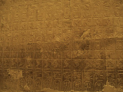 King List of the Seti I Temple at Abydos (I)