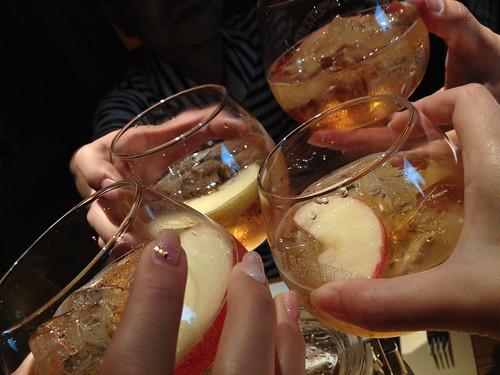 2杯目はみんなで乾杯!@新 つくって楽しい!ブランデースプリッツァー講座