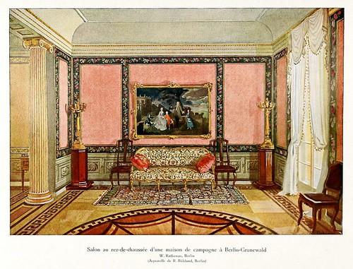 004-120 intérieurs en couleurs…-Principios siglo XX