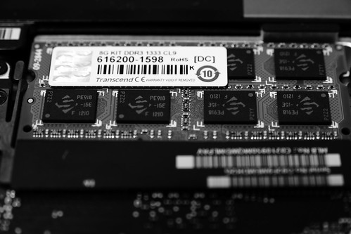 MacBook Pro memory replacement