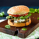 Turkey Pesto Burger
