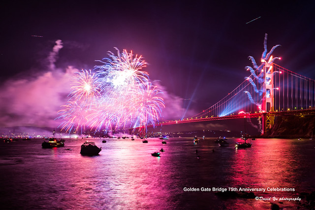 Golden Gate Bridge 75th Anniversary Celebrations