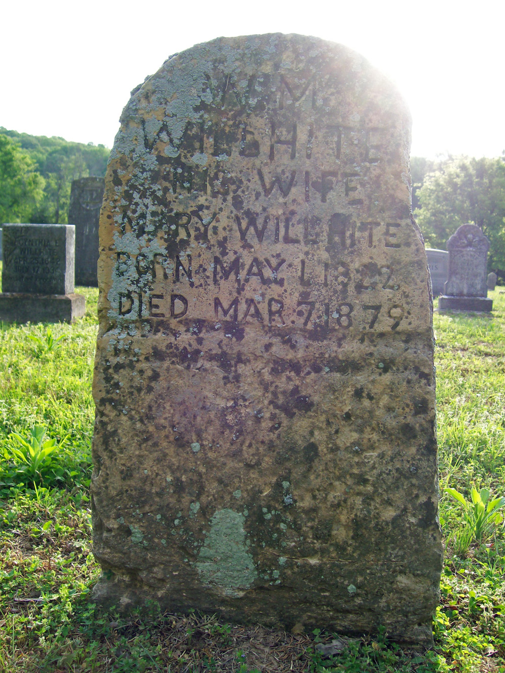 Mary McGibboney Headstone