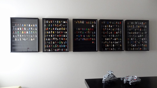 Lego Minifigure Display Wall: Updated