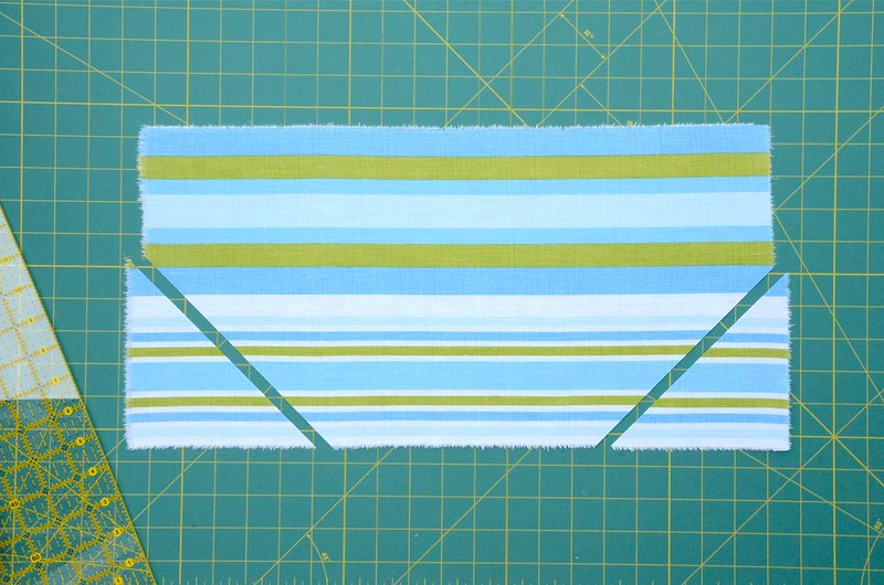bias-cut stripes tutorial