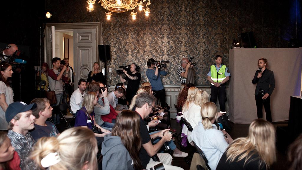 Justin Bieber - stemningsbilder Oslo