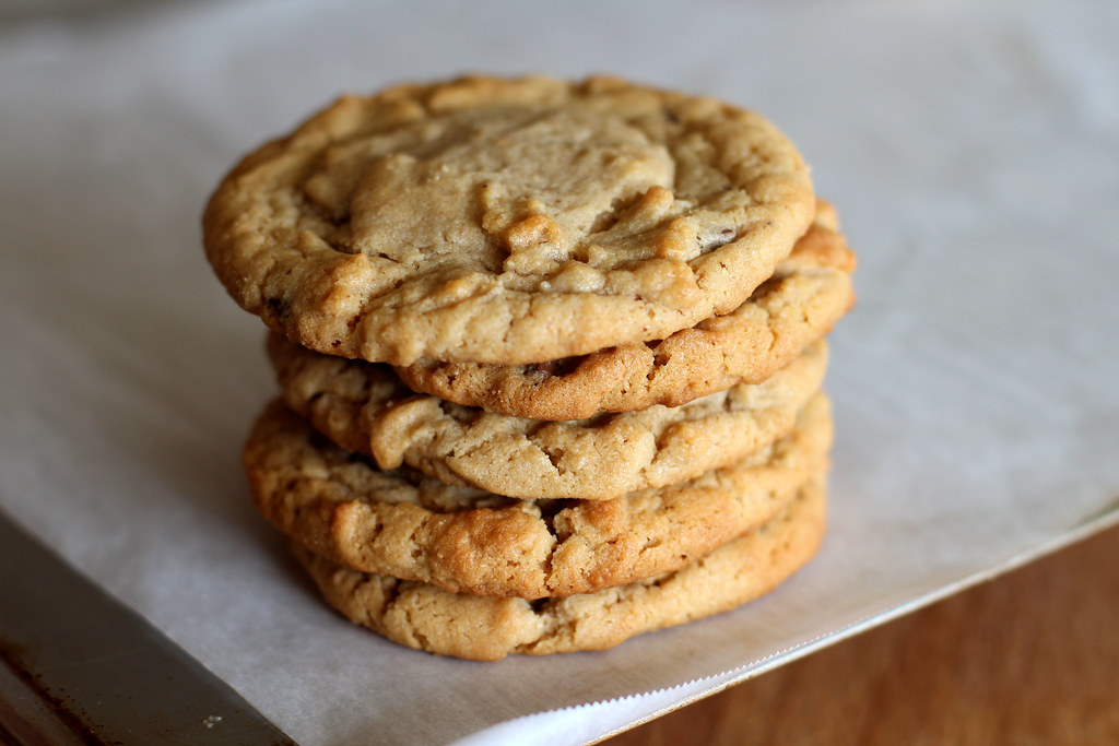 Salted Soft & Chewy Peanut Butter Cookies