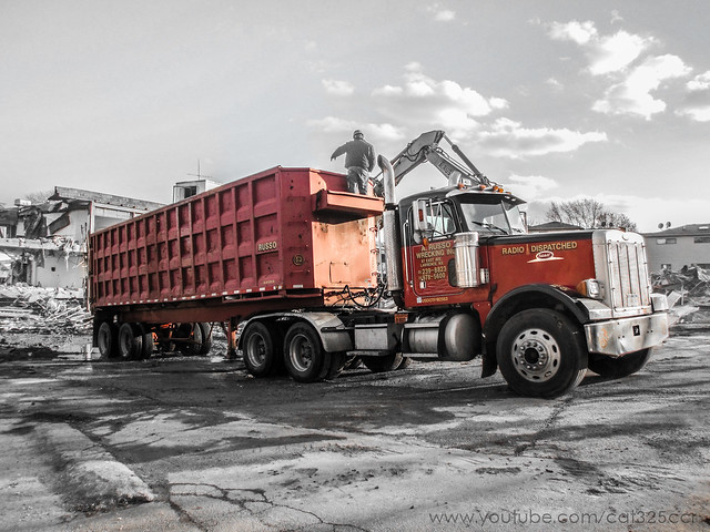 A. Russo Wrecking | Peterbilt 378, Canon POWERSHOT SD940 IS