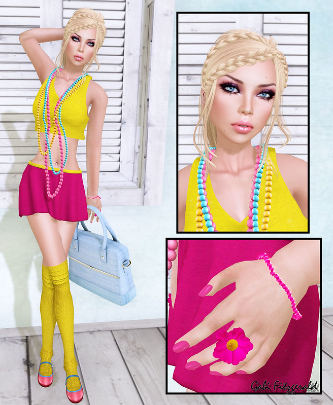 (Color Blocking Fair) Gloxx Store - Wow Skins - Splash - Illmatic