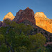 Last Light in Zion Canyon