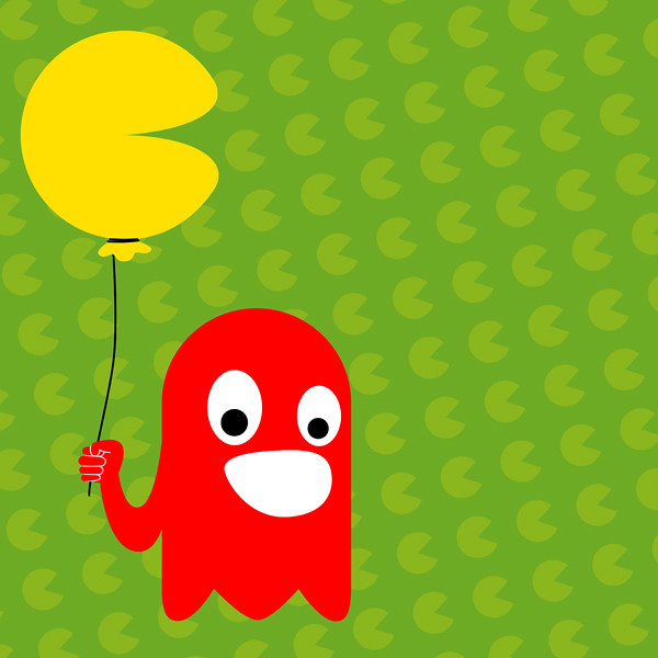 pacman balloon