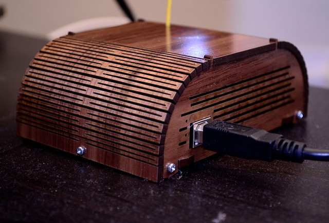 Arduino radio enclosure (rear)