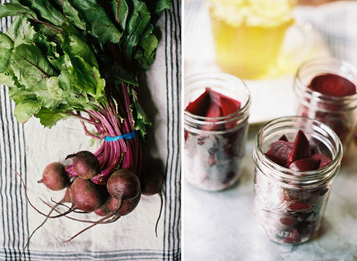 Marisa's Gingery Pickled Beets