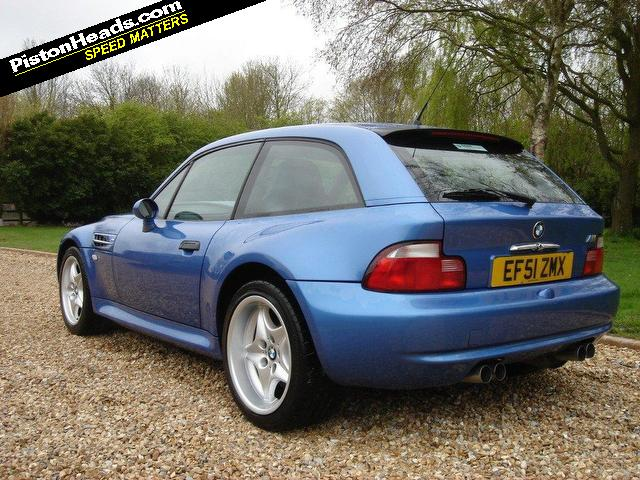 2002 BMW Z3 M Coupe | Estoril Blue | Estoril/Black