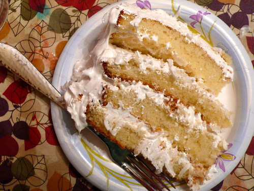 L1270601Coconut Cake made by Hannah for my birthday