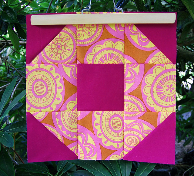 June Craftsy BOM / Nine Patch Octagon Block