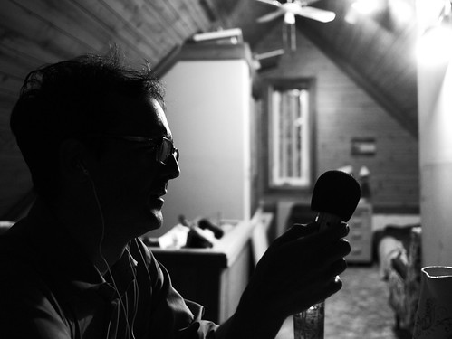 paul at the mic