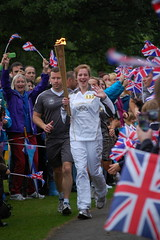 Torch Bearer in Ambleside