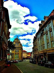 #Today's #cloud-pr0n over the #city of #Eisenach.