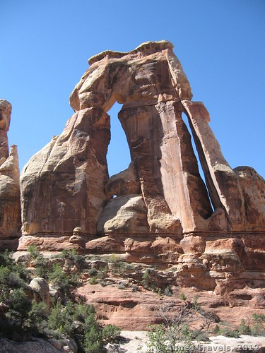 Druid Arch in Canyonlands National Park, Utah