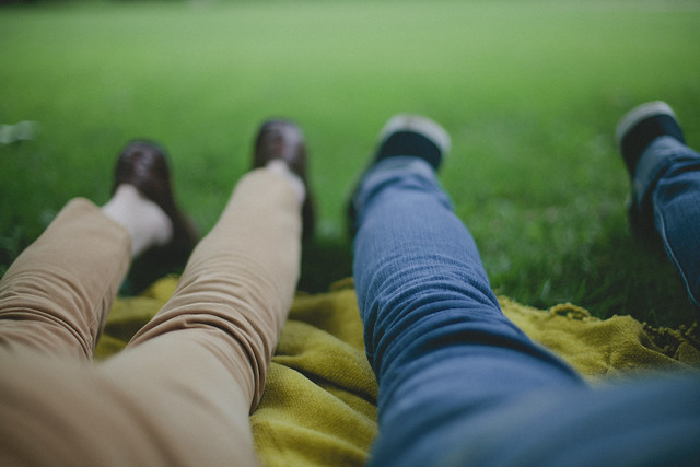 overcast picnic