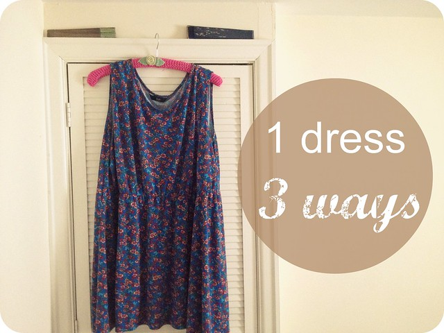 1 dress 3 ways a thrifty mrs