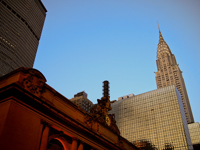 Grand Central + Chrysler Building