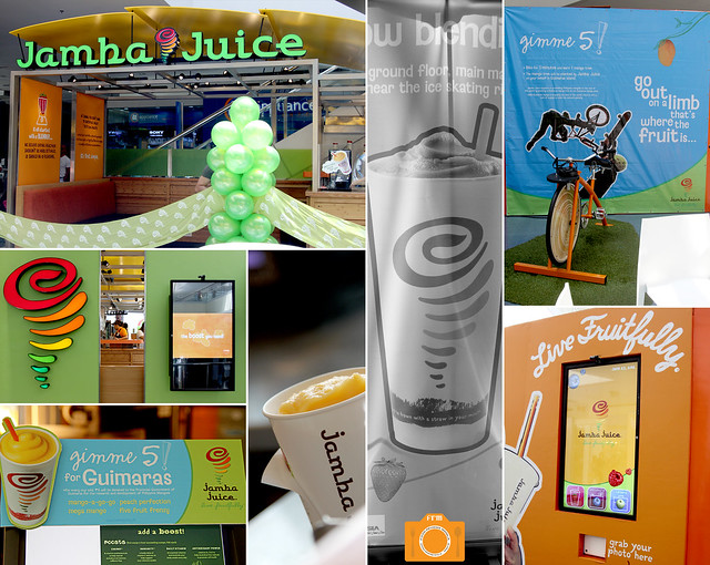 Jamba Juice event interiors