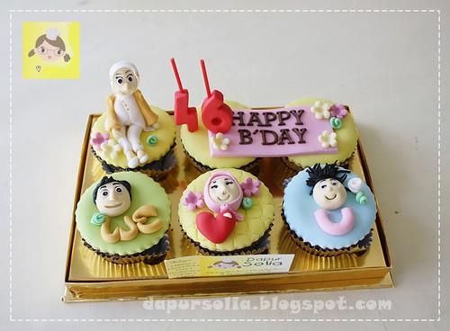 Cupcake Set for Mama