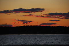 Sunset over the Patuxent