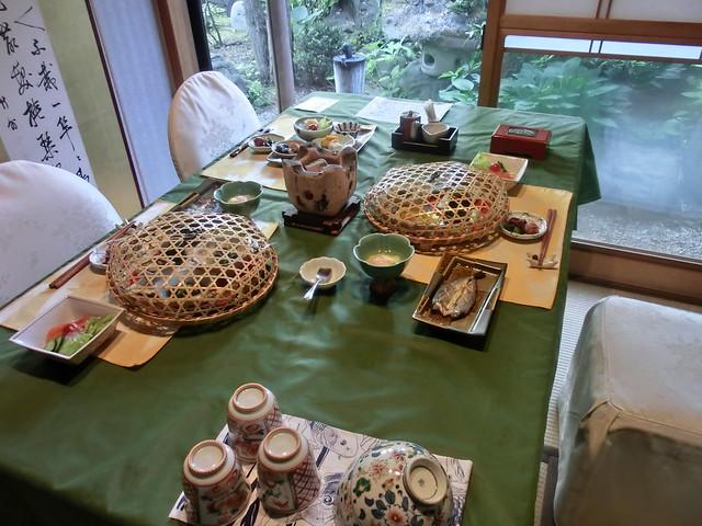 飛騨古川 料亭旅館「八ツ三館」朝食