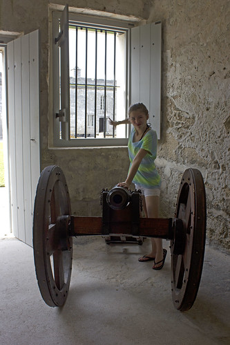 cannon at the fort