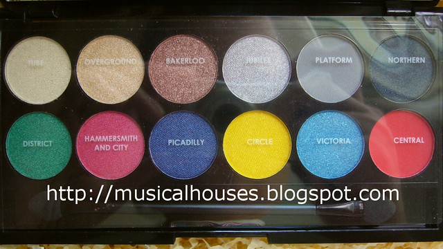 sleek glory palette close names