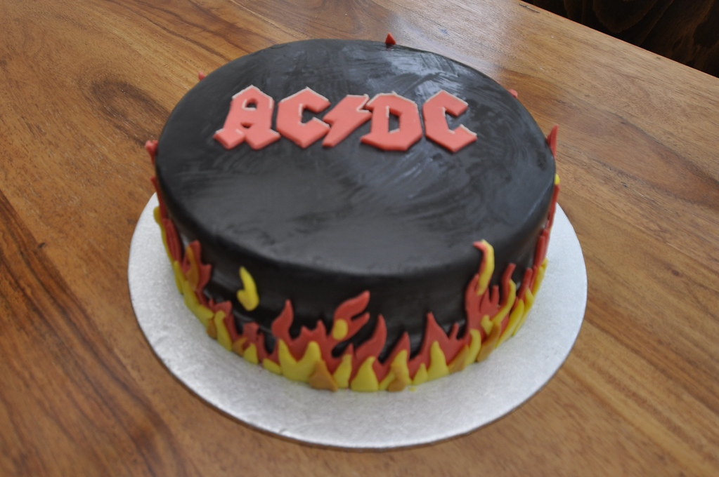 AC DC Cake